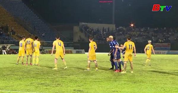 Chung kết lượt đi Cúp quốc gia Sứ Thiên Thanh năm 2017 : Becamex Bình Dương 1-2 Sông Lam Nghệ An