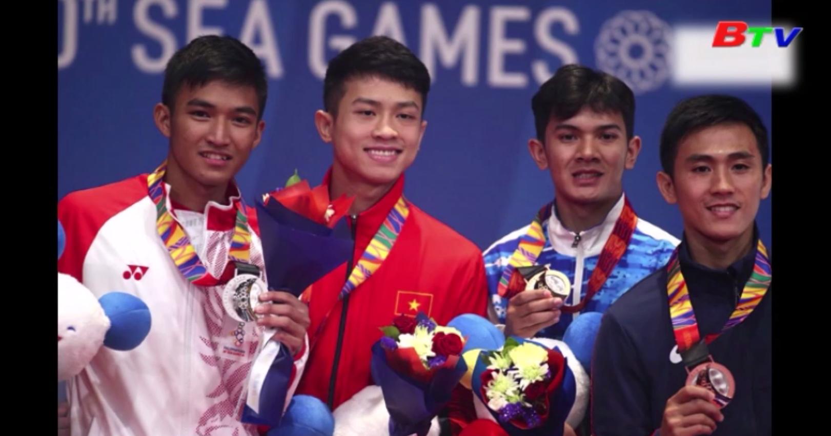 Những khoảnh khắc vàng của thể thao Bình Dương tại SEA Games 30