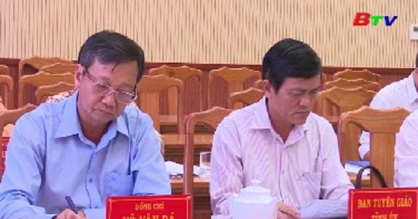 Hội nghị Ban Chấp hành Đảng bộ thị xã Tân Uyên lần thứ 19, khóa XI, nhiệm kỳ 2015-2020