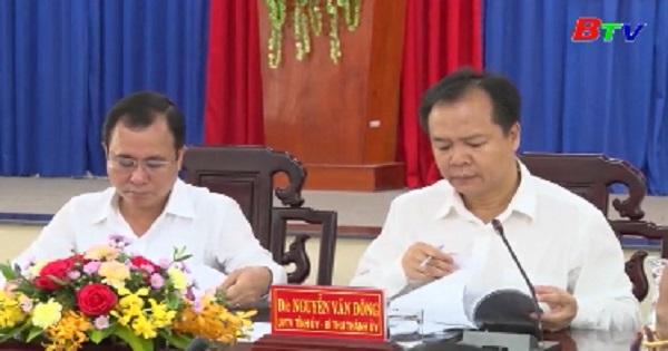 Hội nghị Ban Chấp hành Đảng bộ Thành phố Thủ Dầu Một lần thứ 35 khóa XI, nhiệm kỳ 2015-2020 (Mở rộng)