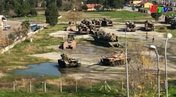 Thổ Nhĩ Kỳ tăng cường hiện diện quân sự tại biên giới với Syria