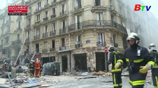 Vụ nổ ở Paris - Ít nhất 20 người bị thương