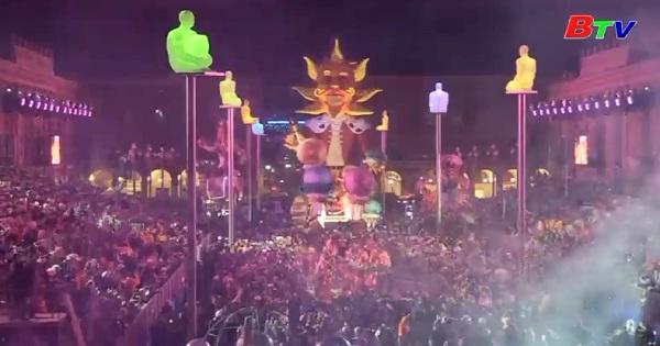 Khai mạc lễ hội hóa trang Carnival thành phố Nice