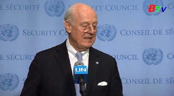 LHQ ấn định ngày tổ chức hòa đàm Syria tại Geneva