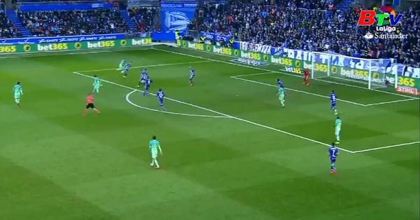 Vòng 22 La Liga-Alaves 0-6 Barcelona