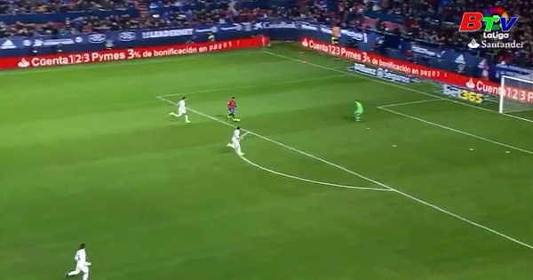 Vòng 22 La Liga-Osasuna 1-3 Real Madrid