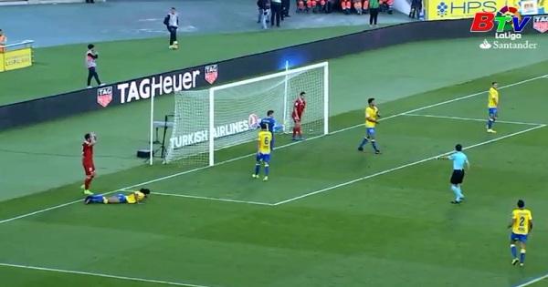 Vòng 22 La Liga-Las Palmas 0-1 Selliva