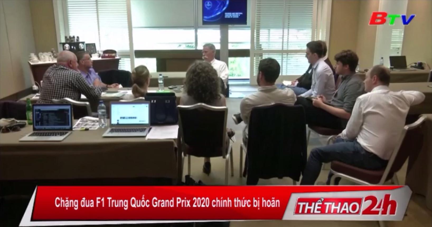 Chặng đua F1 Trung Quốc Grand Prix 2020 chính thức bị hoãn