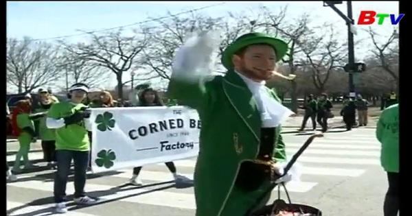 Chicago chào đón ngày lễ thánh Patrick