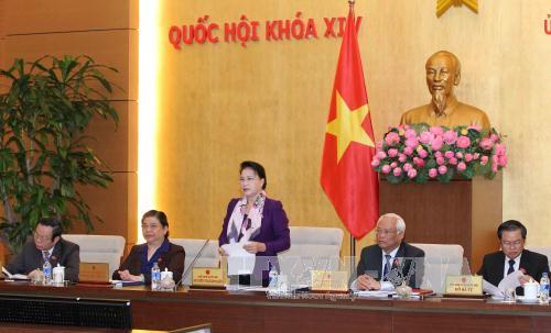 Khai mạc phiên họp thứ 8, UBTV Quốc hội khóa XIV