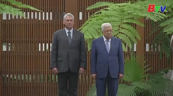 Tổng thống Palestine thăm Cuba