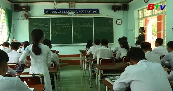 Trường THPT Bình Phú tổ chức ôn tập kỳ thi 2018