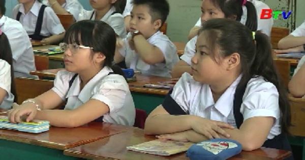 100% học sinh lớp 1 sẽ học 2 buổi một ngày