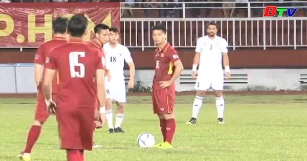 Bảng C - Lượt trận thứ 2 - Asian Cup 2019 - Việt Nam 0-0 Jordan