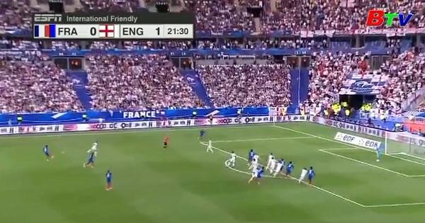 Giao hữu quốc tế - Pháp 3-2 Anh