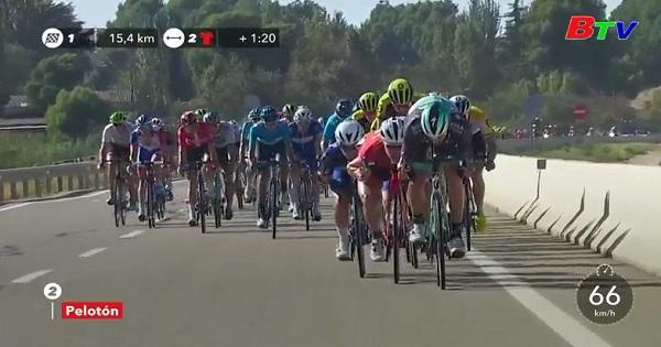 Jelle Wallays thắng chặng 18 Giải xe đạp vòng quanh Tây Ban Nha