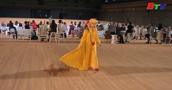 Biểu diễn khép lại tuần lễ thời trang New York