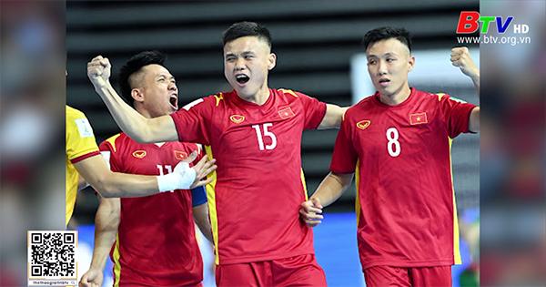 Vòng chung kết FIFA Futsal World Cup 2021 - Đội tuyển Việt Nam gặp khó trận ra quân