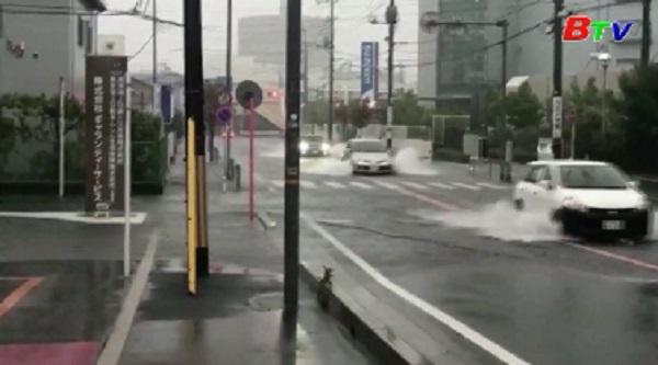 Siêu bão Hagibis tàn phá Nhật Bản