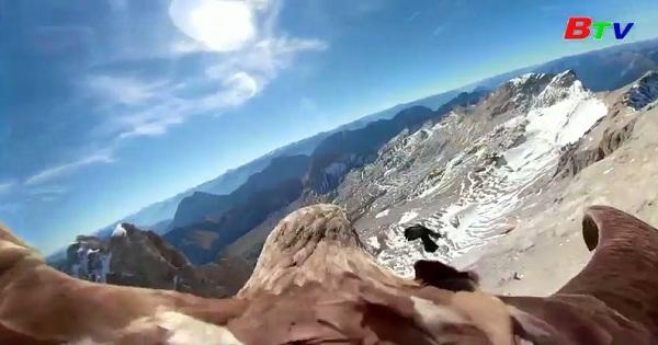 Chiêm ngưỡng toàn cảnh trên dãy núi Alps ở Châu Âu