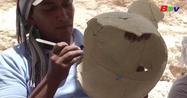Ai Cập - công bố khám phá khảo cổ mới ở Luxor