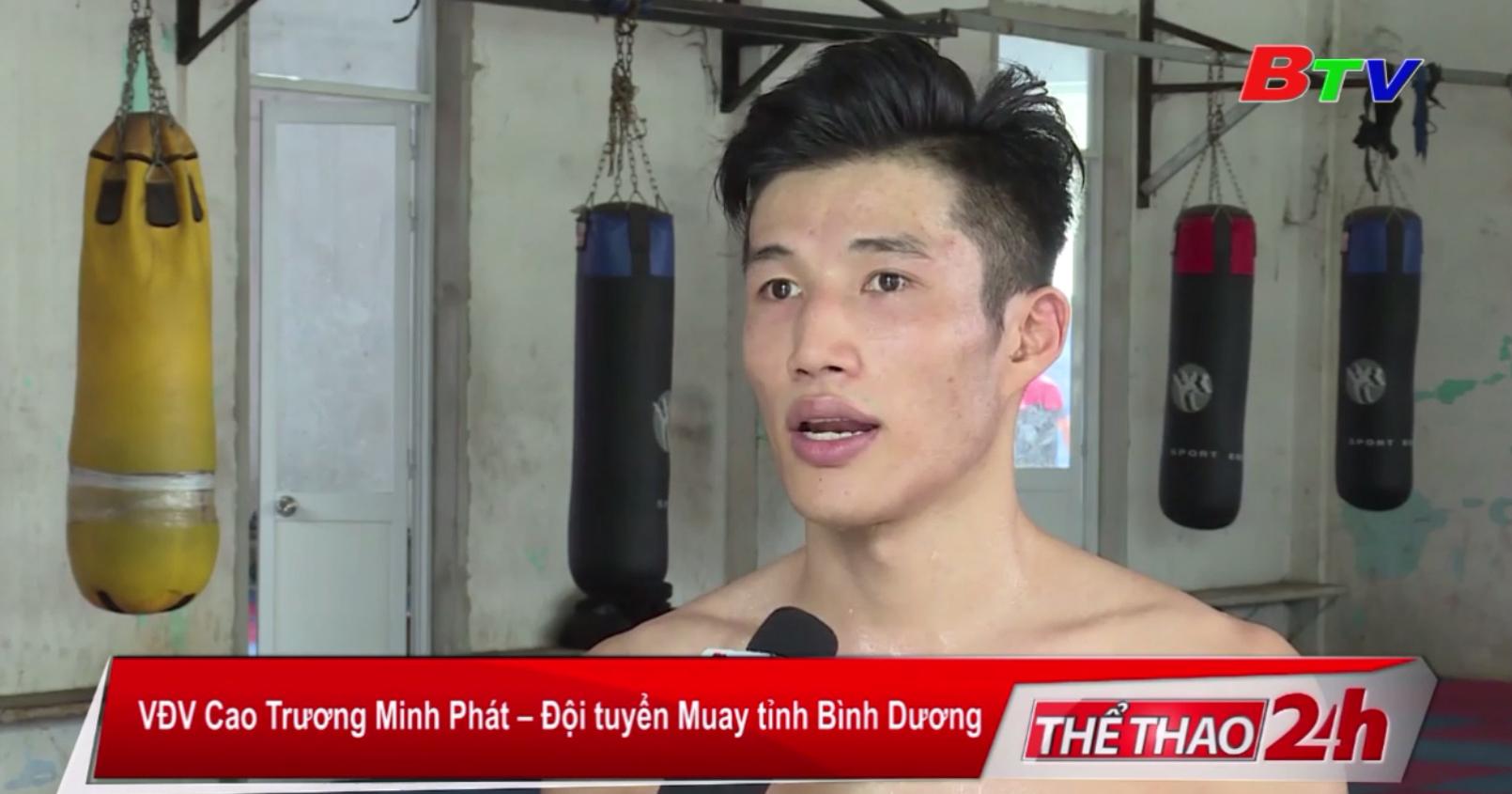 VĐV Trương Cao Minh Phát lần đầu tham dự sân chơi khu vực