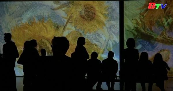 Triển lãm những kiệt tác của Van Gogh theo kiểu mới