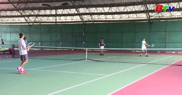 Gải quần vợt F2 Men's Future Thành phố Mới Bình Dương Cúp Becamex IDC 2017