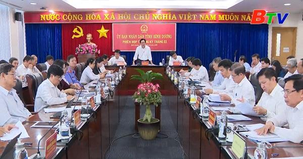 Kỳ họp lần thứ 17 HĐND tỉnh Bình Dương quyết định nhiều vấn đề quan trọng