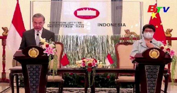 Bộ trưởng Bộ Ngoại giao Trung Quốc thăm Indonesia