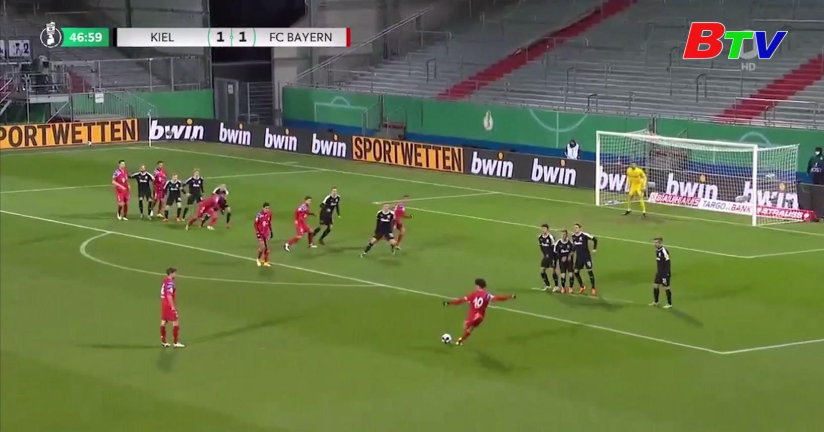 Bayern Munich bị loại khỏi Cúp Quốc gia Đức