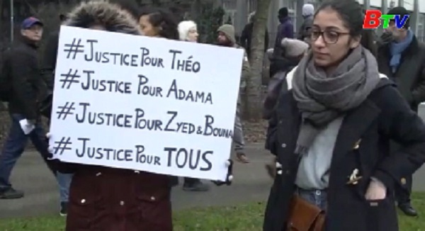 Tổng thống Pháp kêu gọi người dân tôn trọng cảnh sát và công lý