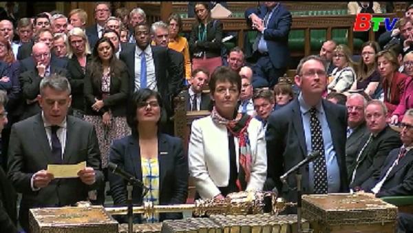 Thủ tướng Anh lại thất bại trong lần hai bỏ phiếu Brexit