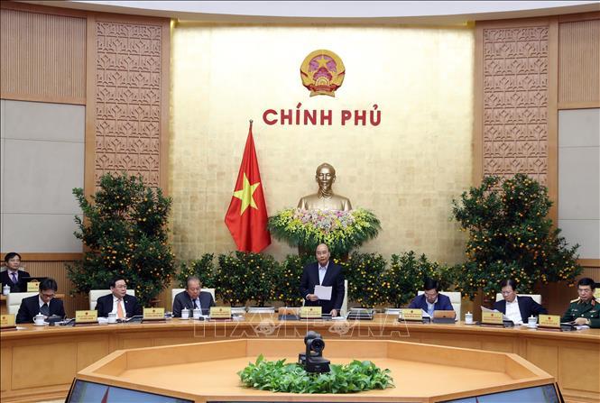 Nghị quyết Phiên họp Chính phủ thường kỳ tháng 1/2020