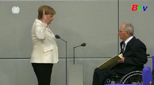 Thủ tướng Đức Merkel tuyên thệ nhậm chức nhiệm kỳ thứ tư