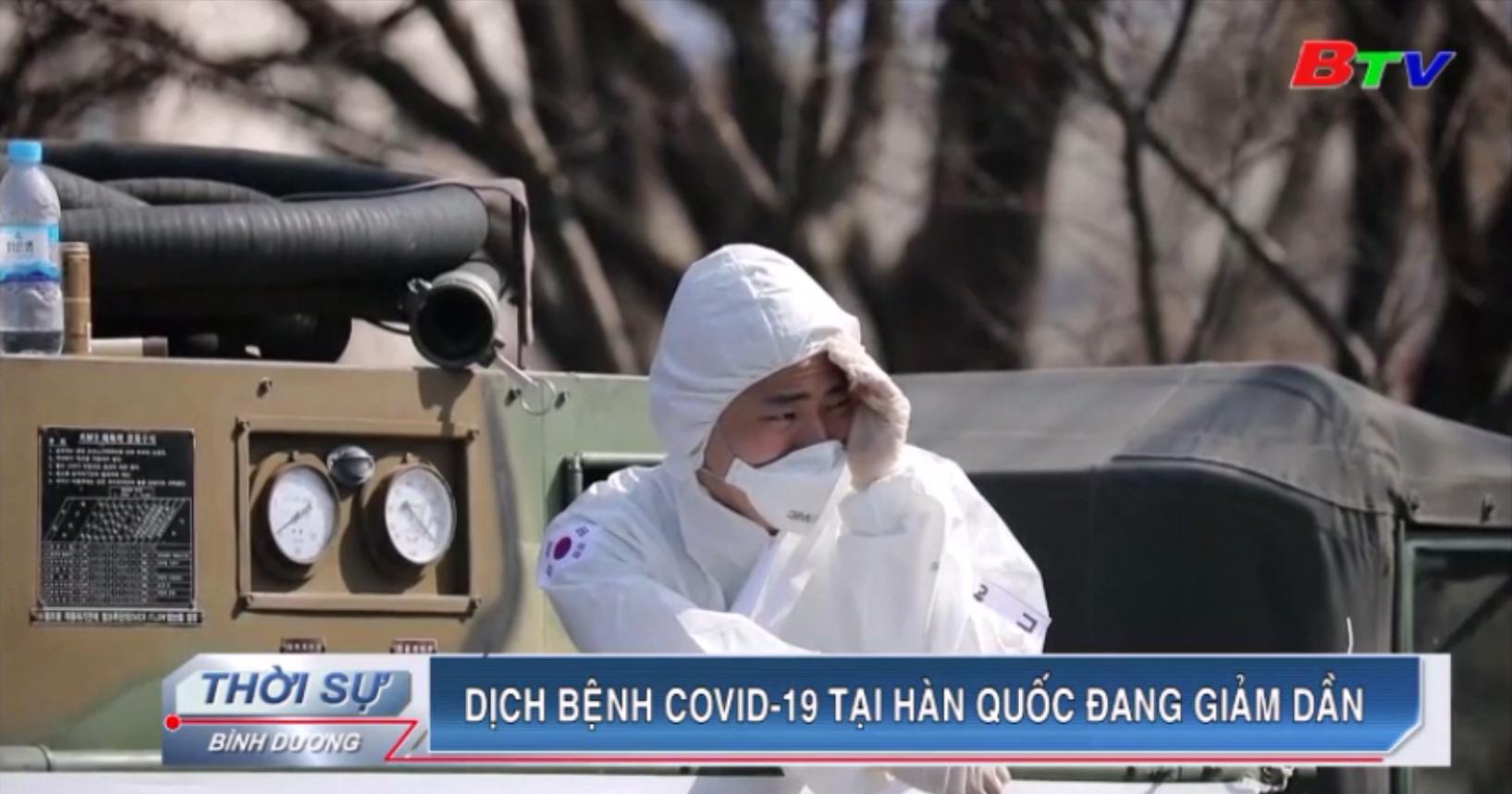Dịch bệnh Covid-19 tại Hàn Quốc đang giảm dần