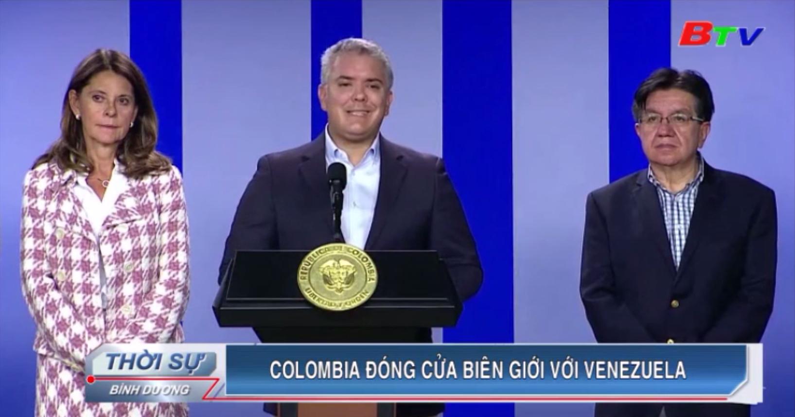 Colombia đóng cửa biên giới với Venezuela