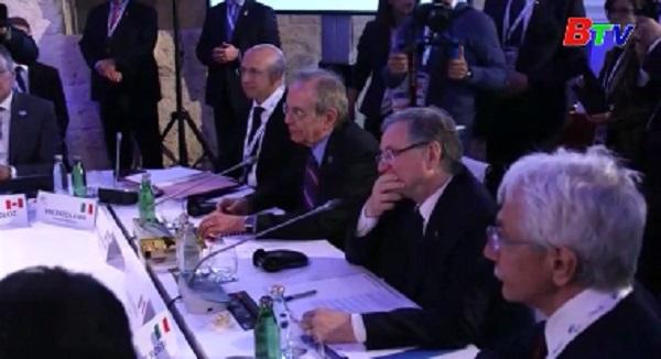 G7 cam kết thúc đẩy tự do thương mại