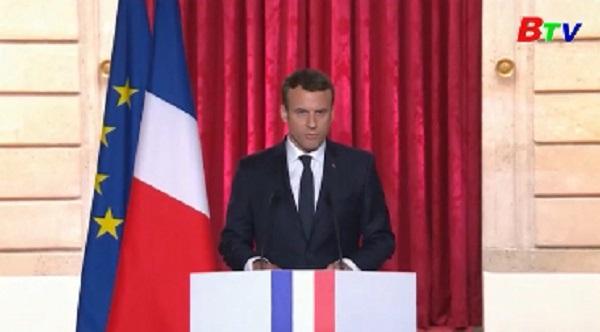 Tân tổng thống Macron cam kết xây dựng nước Pháp hùng mạnh