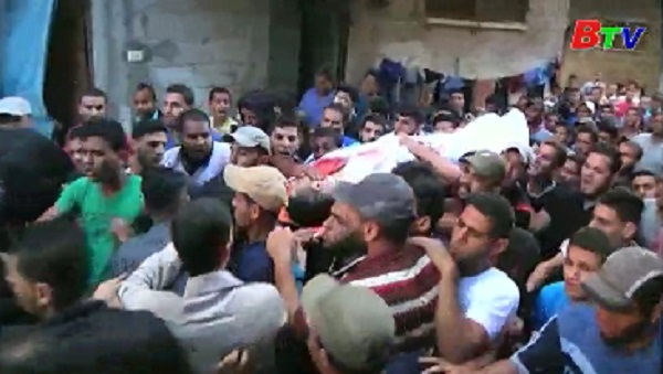 PLO kêu gọi biểu tình phản đối Mỹ, Israel rộng khắp Bờ Tây và Dải Gaza