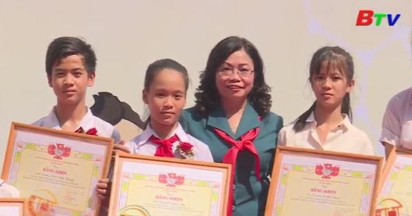 Bình Dương tổ chức kỷ niệm 77 năm thành lập Đội Thiếu niên tiền phong Hồ Chí Minh