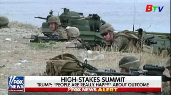 Tập trận quân sự chung Mỹ - Hàn bị hoãn vô thời hạn