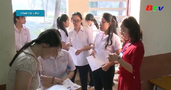 Kỳ thi THPT Quốc gia 2019, Bình Dương vươn lên vị trí thứ 4 về điểm trung bình chung các môn thi