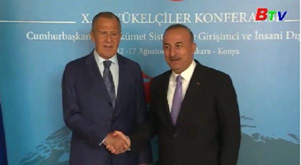 Nga-Thổ Nhĩ Kỳ áp dụng biện pháp thúc đẩy quan hệ đối tác chiến lược