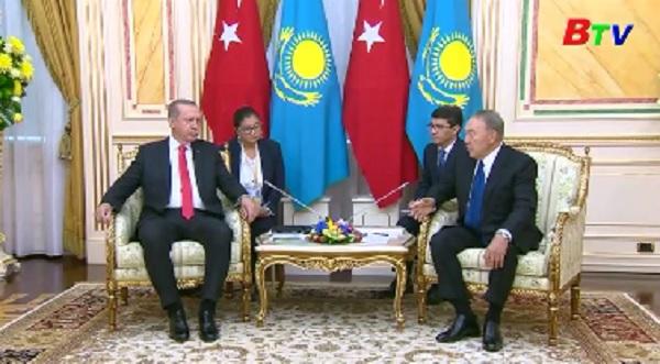 Bắt đầu vòng đàm phán thứ 6 về hòa bình Syria tại Astana