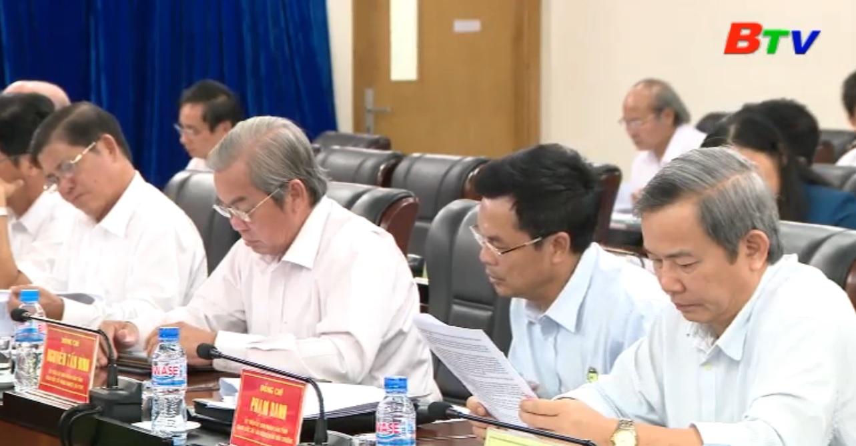 UBND tỉnh Bình Dương tổ chức phiên họp lần VII