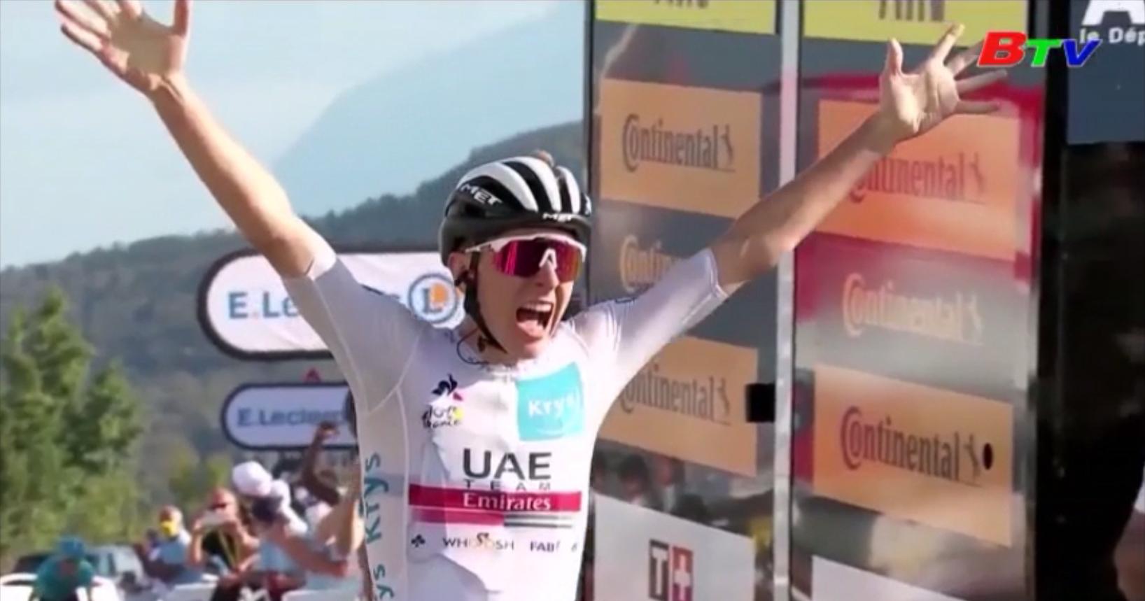 Kết quả Chặng 15 Giải đua xe đạp Tour de France năm 2020