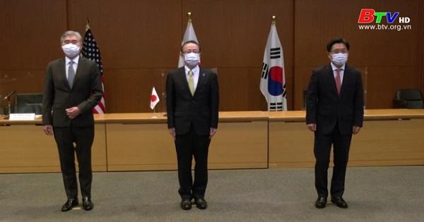 Đàm phám 3 bên giữa Mỹ - Nhật - Hàn về vấn đề hạt nhân Triều Tiên