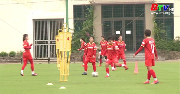 Đội tuyển nữ Việt Nam sẵn sàng cho vòng loại Asian Cup 2022