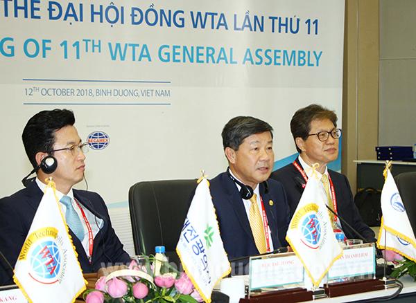 Phiên họp toàn thể Đại hội đồng WTA: Bầu cử Chủ tịch WTA nhiệm kỳ 2019-2021
